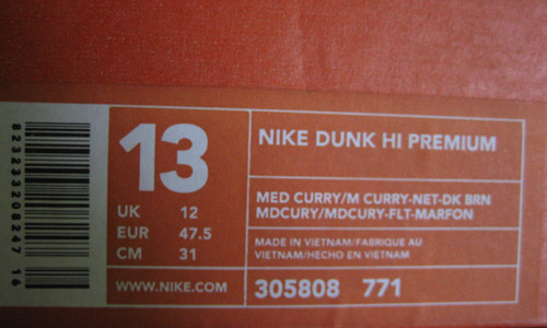 Dunk High Box
